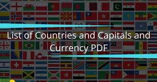 list-of-country-capital-currency-www-gkduniya-in