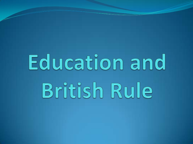 NCERT Notes Education System In India During British Rule
