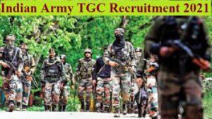 Indian Army 134 TGC 2021