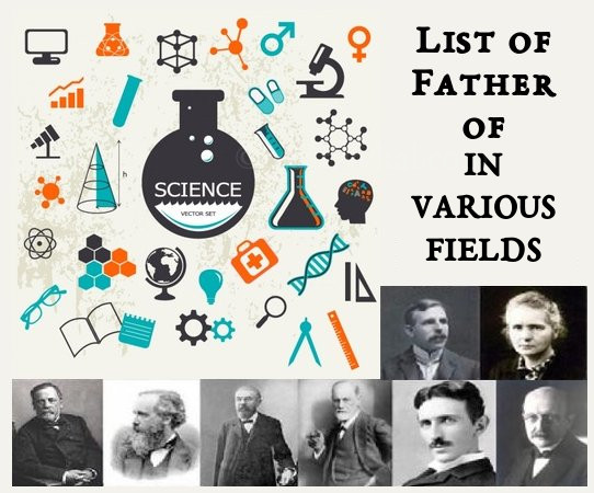 Father's of Different Fields